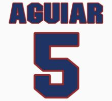 National football player Louie Aguiar jersey 5 by imsport