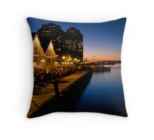 Halifax Waterfront Dusk Throw Pillow