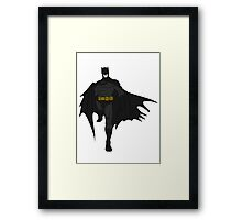 Batman Celtic Colored Framed Print