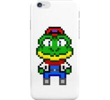 Slippy Toad - Star Fox Team Mini Pixel iPhone Case/Skin