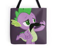 Mustache Spike Tote Bag