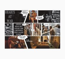 Hearts At War - Melbourne Exhibition Promo Poster  T-Shirt