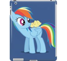 "Rainbow Dash - ""Chicks"" Textless ver. iPad Case/Skin"