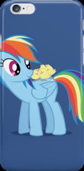 """Rainbow Dash - """"Chicks"""" Textless ver. by vigorousjammer"""