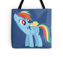 """Rainbow Dash - """"Chicks"""" Textless ver. Tote Bag"""