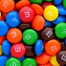 color chocolte candy by Tony  Bazidlo