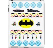 Ugly Batman Christmas Sweater iPad Case/Skin