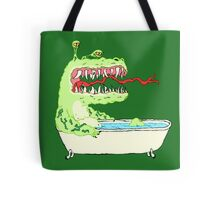 A Dragon in a Bathtub Tote Bag