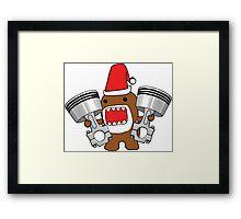 Domo Clause read my Christmas List Framed Print