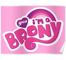 Yes I'm a Brony - My Little Pony Parody (Ver. 1) Poster