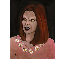 Doppelgangland - Vampire Willow - BtVS Photographic Print