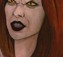 Doppelgangland - Vampire Willow - BtVS Sticker