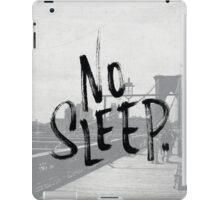 No sleep till... iPad Case/Skin
