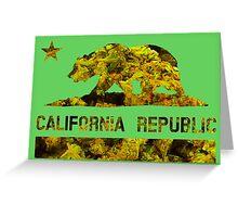 Cali Republic of Dank  Greeting Card