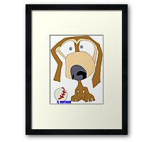 Fetch Framed Print
