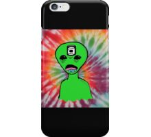 Alien Dude Cheap Beer  iPhone Case/Skin