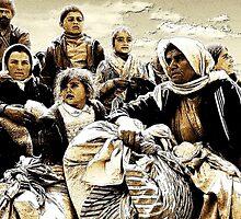 KURDISH REFUGEES 1991 by kfbphoto