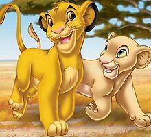 Simba and Nala  by kiddruba