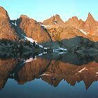 Minaret Lake by Ray Rozelle