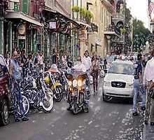 Voodoo, Bikers and Cops    This is New Orleans by Kate Purdy
