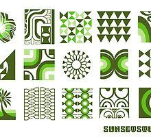 Green Sunset by Michael Lothian