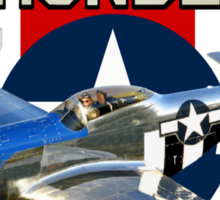 War Thunder P-51 Mustang  Sticker