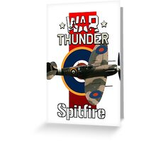 War Thunder Spitfire Greeting Card