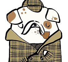 Sherlock Bulldog by carla zamora