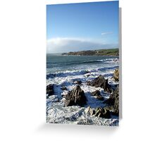 Stormy Sea Greeting Card