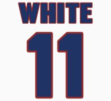 National football player Danny White jersey 11 by imsport