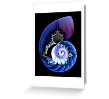 Mandel's Spiral Greeting Card