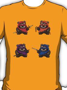TEENAGE MUTANT NINJA EWOKS- battle T-Shirt