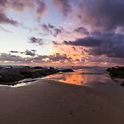 Sunrise at Currumbin by Brent Randall