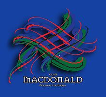 Clan MacDonald Tartan Twist by eyemac24