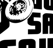 God Save McQueen Sticker