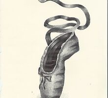 Biro Ballet Pointe Shoe by jactionman