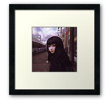 Aobadai Framed Print