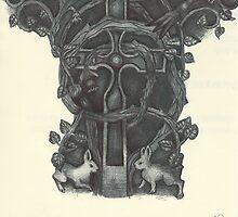 Cædmon Cross by jactionman