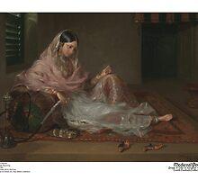 Muslim Lady Reclining by medievalpoc