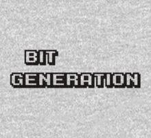 Bit generation. Black version. T-Shirt