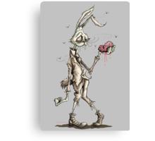 Bugs Zombunny (Sepia) Canvas Print