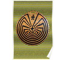 Indigenous Maze Poster