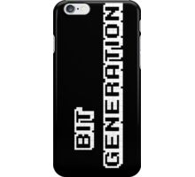 Bit Generation. White version. iPhone Case/Skin