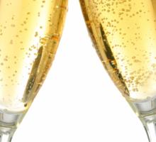 Champagne Glasses  Sticker