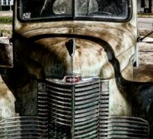 Vintage International pickup truck Sticker