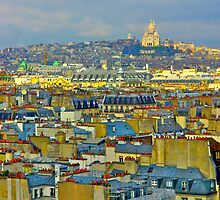 Rooftops of Paris by Ashley Ng