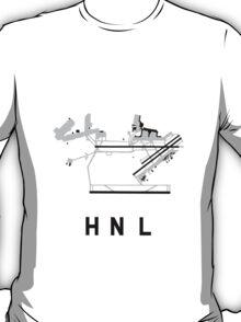 Honolulu Airport Diagram T-Shirt