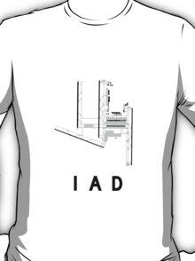 Washington Dulles Airport Diagram T-Shirt