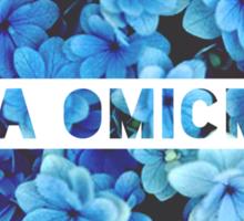 Alpha Omicron Pi  Sticker