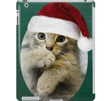 Kitten in da Hat iPad Case/Skin